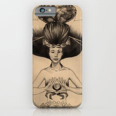 CANCER - Black and White Version Slim Case iPhone 6s