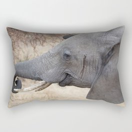 Smiley Elephant! Rectangular Pillow