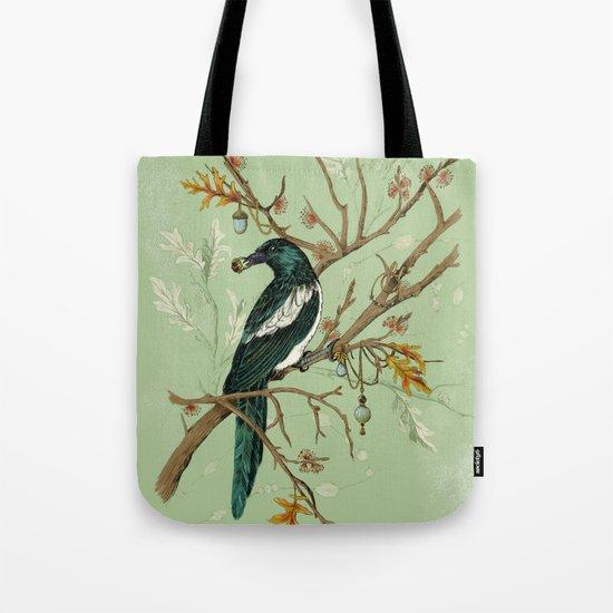 Magpie Jewels Tote Bag