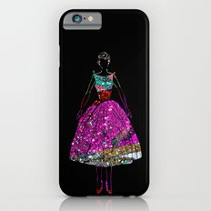 Audrey OZ Stardust Pink Glitter Dress Slim Case iPhone 6s