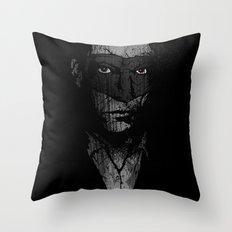 Father Hazard (Red Eyes) Throw Pillow
