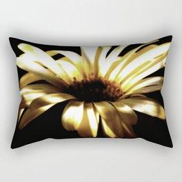 Summer Shadows On Flowers Rectangular Pillow