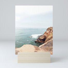 Cliffside Stairs Mini Art Print