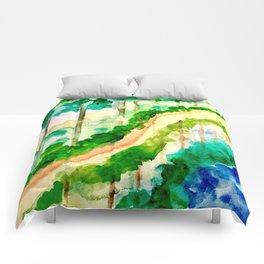 Lakeside Pathway Comforters
