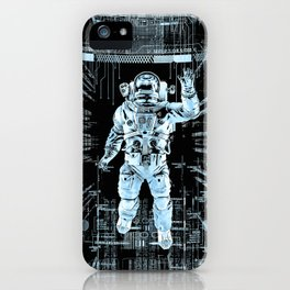 Data Horizon iPhone Case