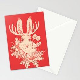 Jackalope Tattoo Stationery Cards