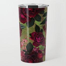 Vintage & Shabby Chic - Botanical Roses Summer Garden   Travel Mug