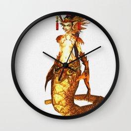 Red Yeohwa Wall Clock