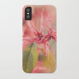 Pink Fluff iPhone Case