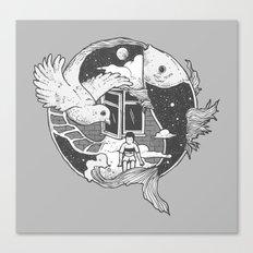 Flowing Dream Canvas Print