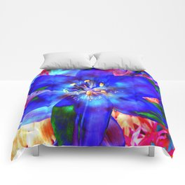 Flashy Flower Comforters