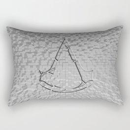 Shadow Of Creed Rectangular Pillow