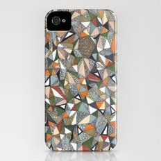 triangles iPhone (4, 4s) Slim Case