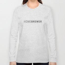 Homebrewer (Black) Long Sleeve T-shirt