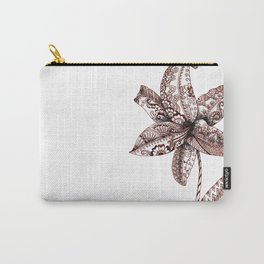 Henna Lily Carry-All Pouch