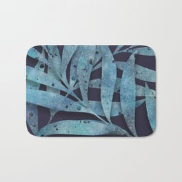 Watercolor Ferns Bath Mat
