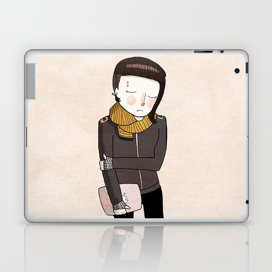Lisbeth Laptop & iPad Skin