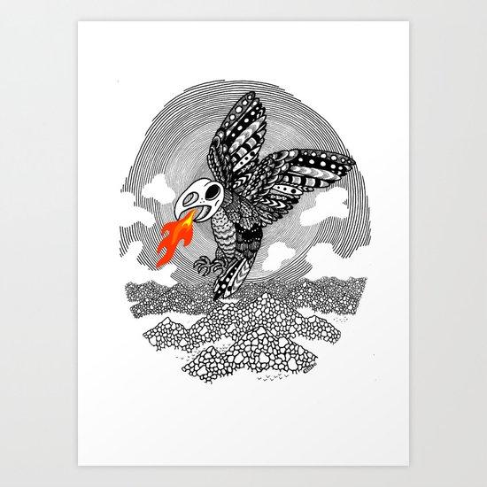 Ziz Art Print