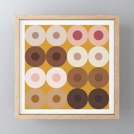 Breast Wishes (mustard) Framed Mini Art Print