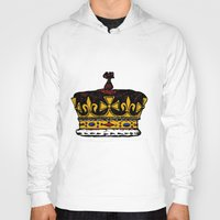 crown Hoodies featuring Crown by Michael Keene