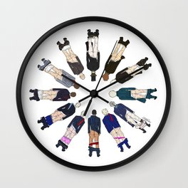 President Butts LV Wall Clock