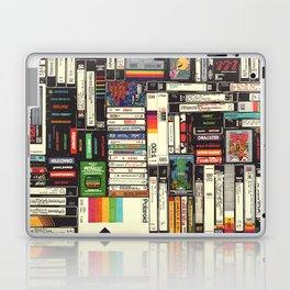 Cassettes, VHS & Games Laptop & iPad Skin