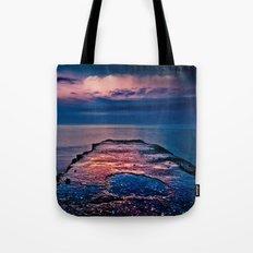 Ashbridges Bay Toronto Canada Dock At Sunrise No 1 Tote Bag