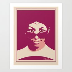 ARETHA Art Print