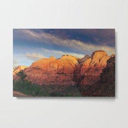 Zion Sunrise Metal Print