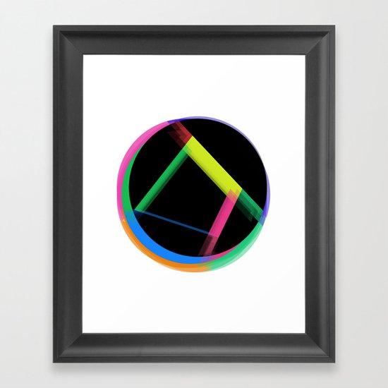 Undone Framed Art Print