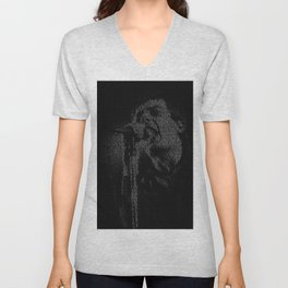 Shadowplay: Ian Curtis Unisex V-Neck