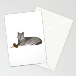 Football Wolf Stationery Cards