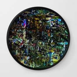 Abstract Vision II Wall Clock