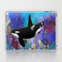 Under The Sea Oraca Killer Whale Laptop & iPad Skin
