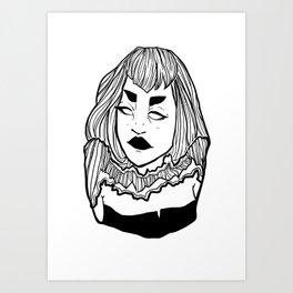 Lines 002 Art Print