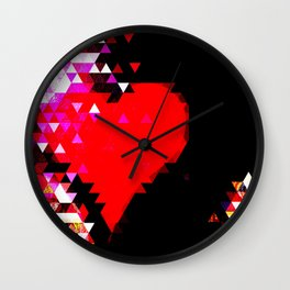 Lead your head with your heart. Don't lead your heart with your head. Wall Clock