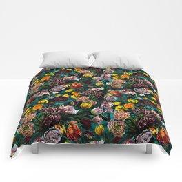 Botanical Multicolor Garden Comforters