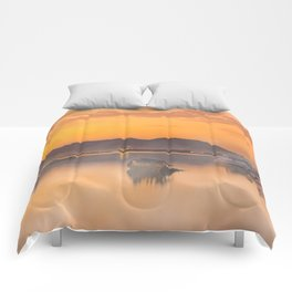 Golden Sunrise Comforters