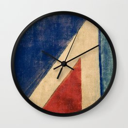 Sails Upwind Wall Clock