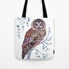 lacy owl Tote Bag