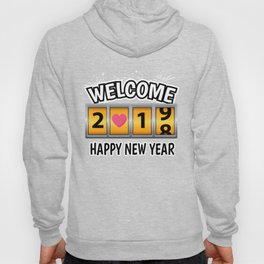 New Year 2019 New Year's Eve Happy New Party Gift Hoody