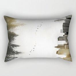 Duality Rectangular Pillow