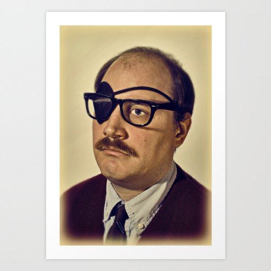 i.am.nerd. :: davey II Art Print
