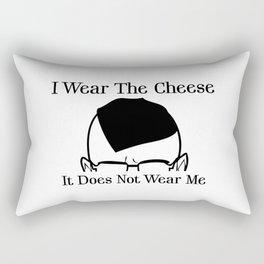 I Wear The Cheese Rectangular Pillow
