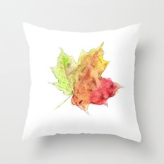 Fall Leaf #2 Throw Pillow