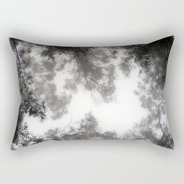 There was still nothing, but you could see it. Rectangular Pillow