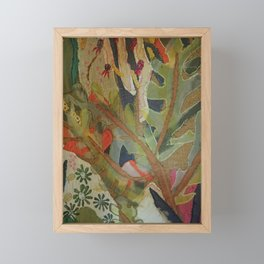 Exotic abstract patterns of nature Framed Mini Art Print