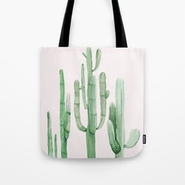 Three Amigos Pink + Green Tote Bag