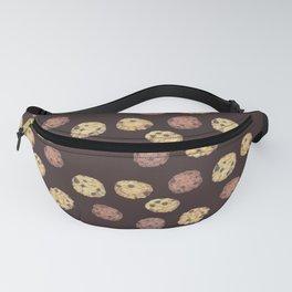 cookies pattern_brown Fanny Pack