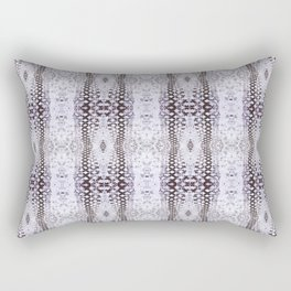 Pattern 58 - Tire track snow lace Rectangular Pillow